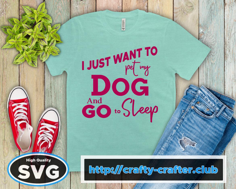 Free Pet my Dog SVG File
