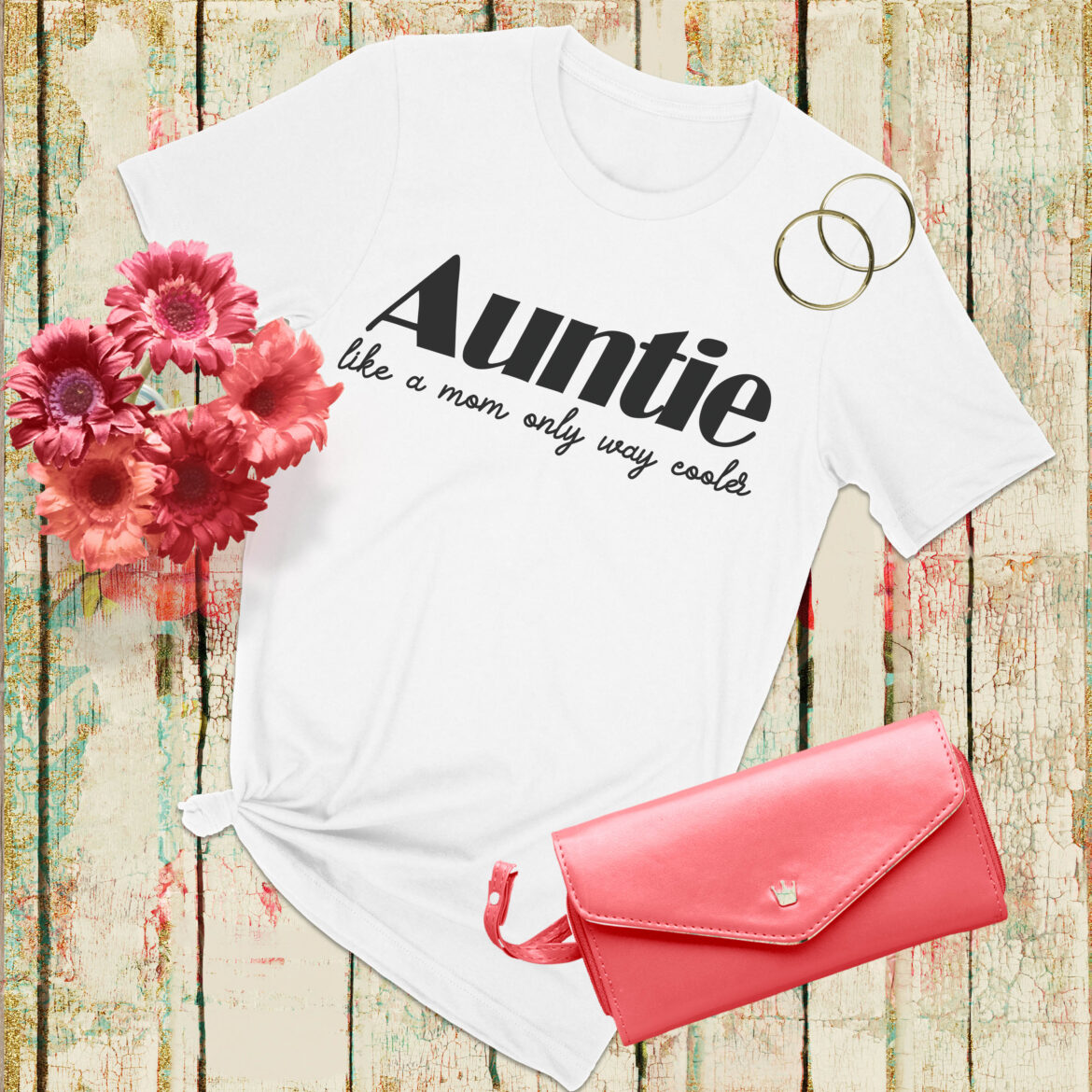 Free Auntie SVG File