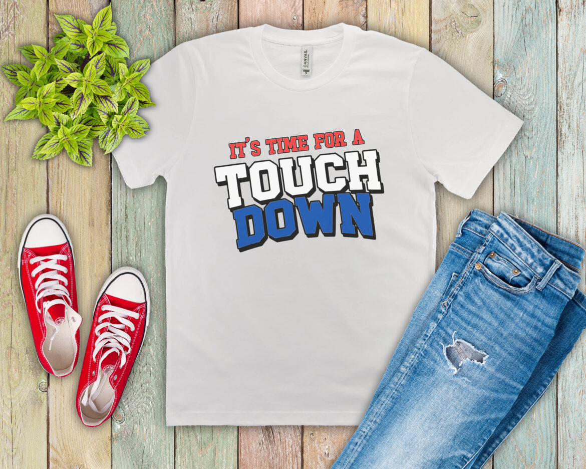 Free Touch Down SVG File