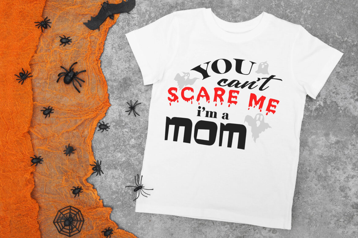 Free You can't scare me SVG File