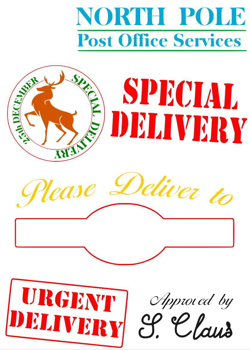 Free Special Delivery Santa Sack SVG File