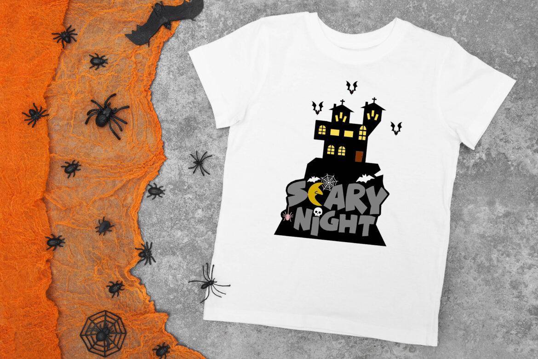 Free Scary Night SVG File