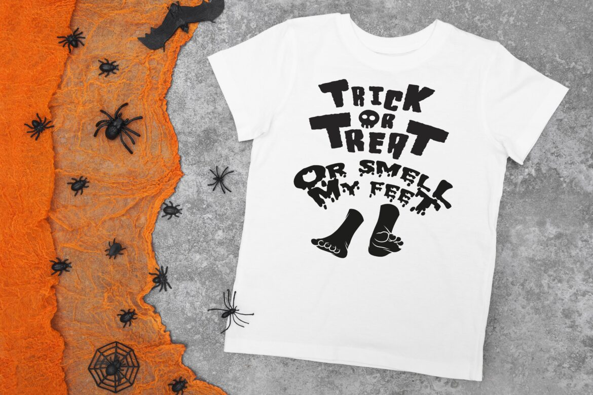 Free Trick or Treat Smell My Feet SVG File