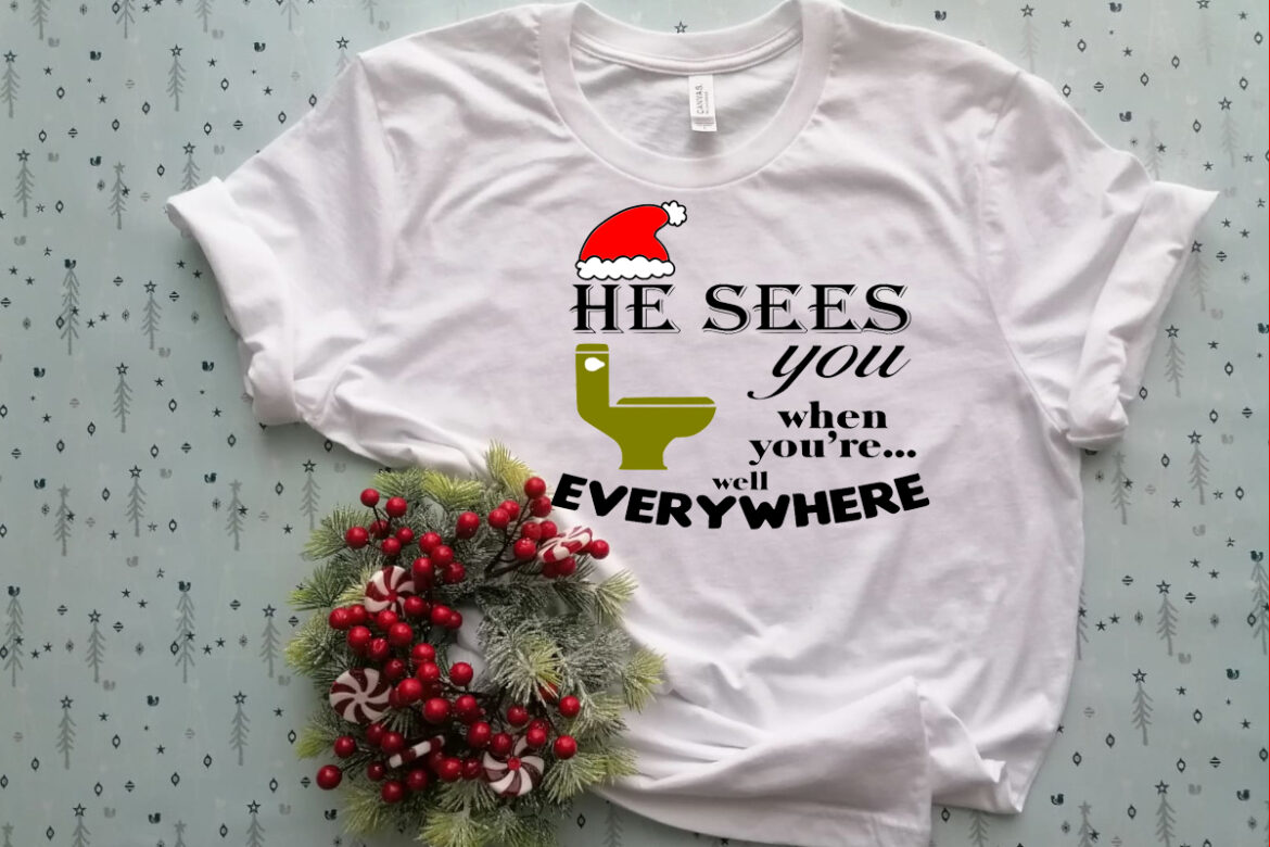 Free He Sees you…..Everywhere SVG File
