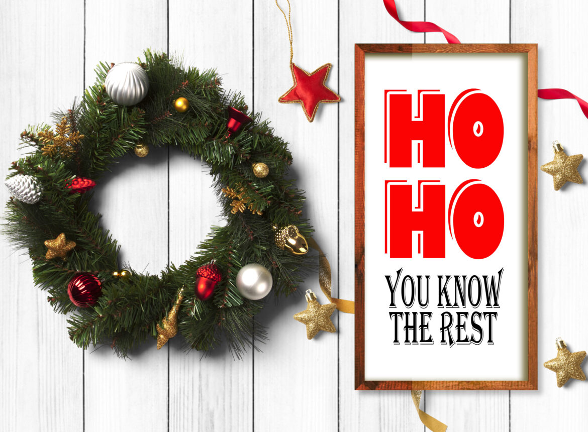 Free Ho Ho You Know the Rest SVG file