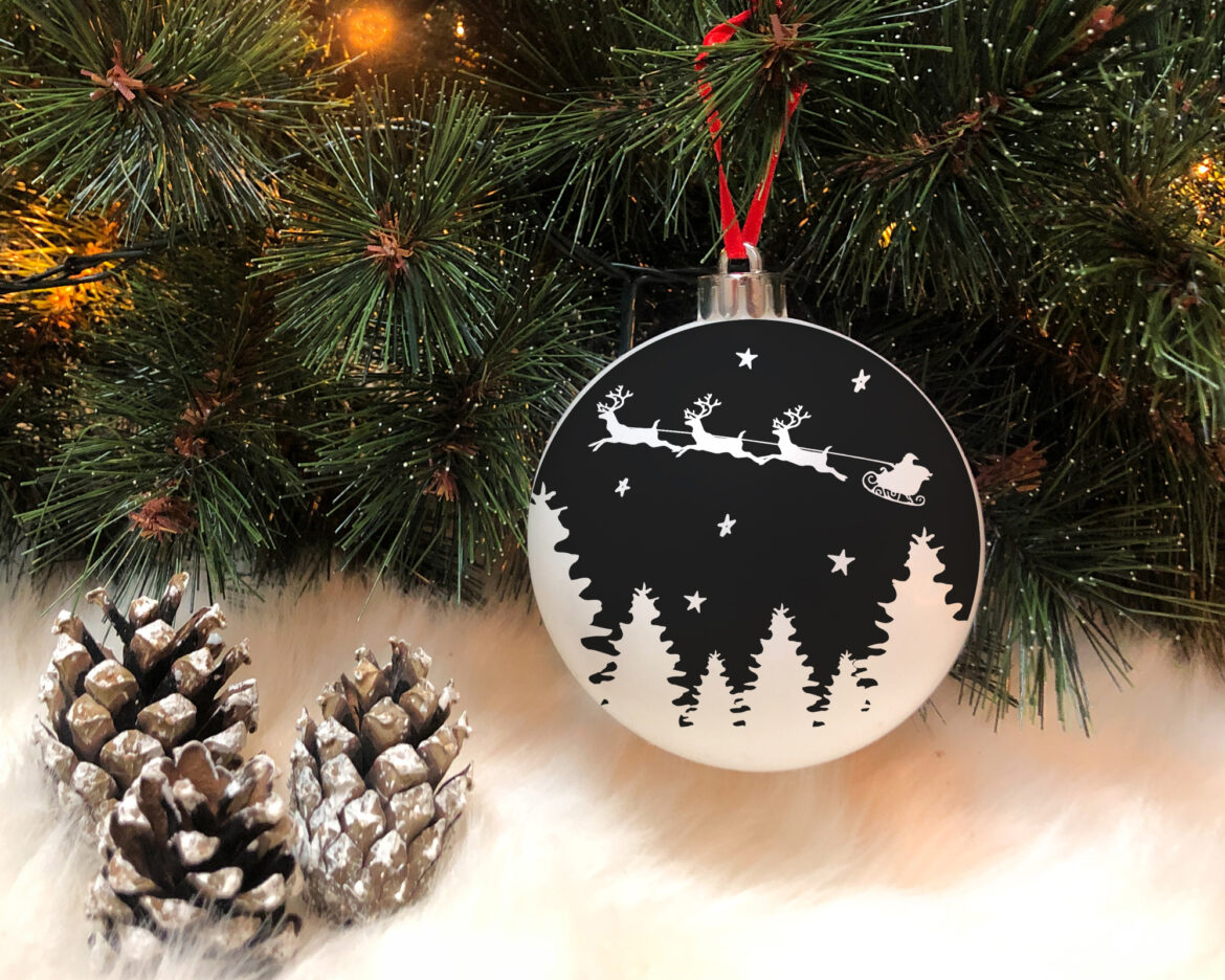 Free Christmas Bauble SVG File